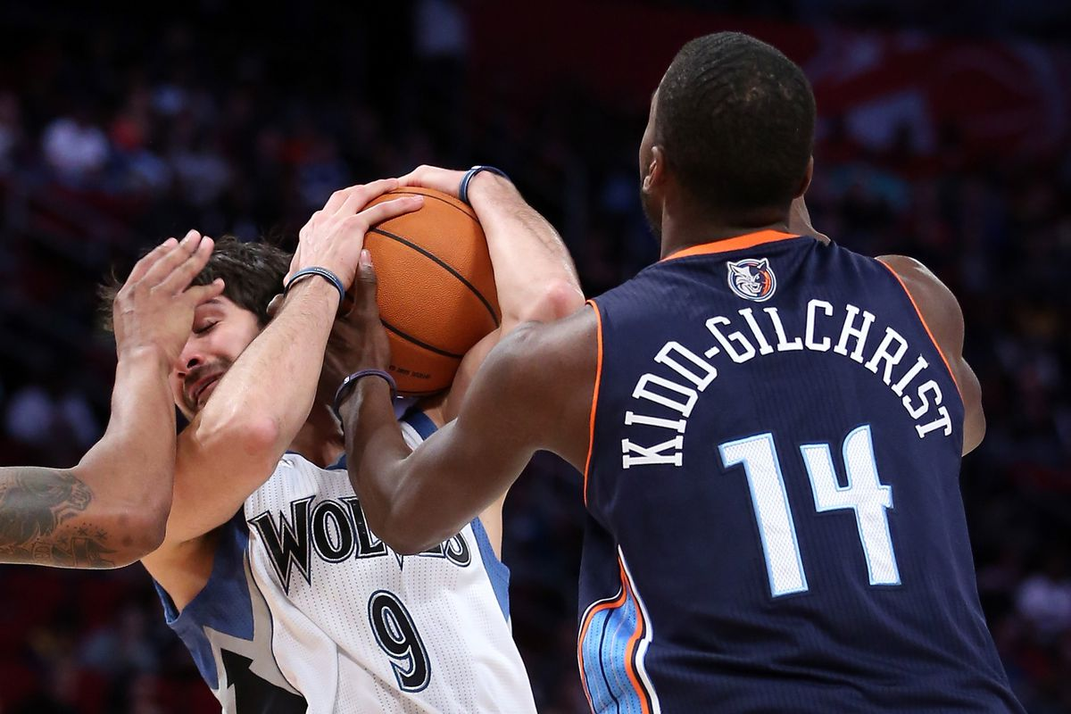 Michael Kidd-Gilchrist? Yeah, he's not playing yet.