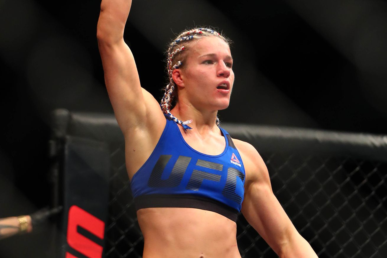 UFC Fight Night 112 results: Felice Herrig abuses Justine Kish, wins lopsided decision