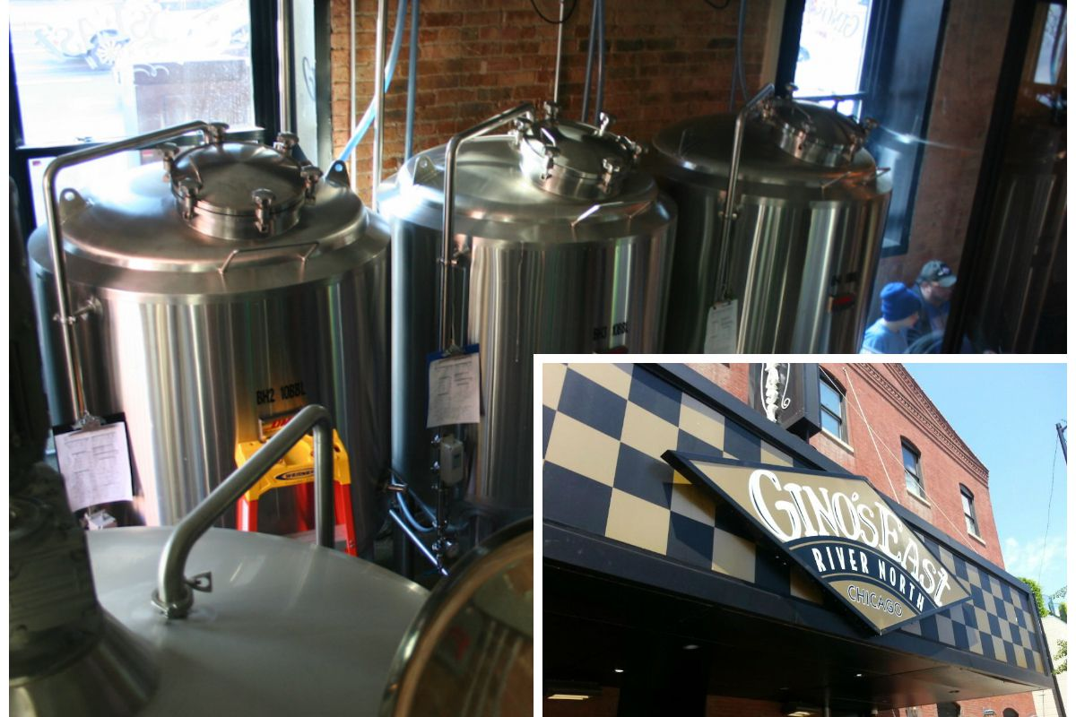 Gino's East Brewery