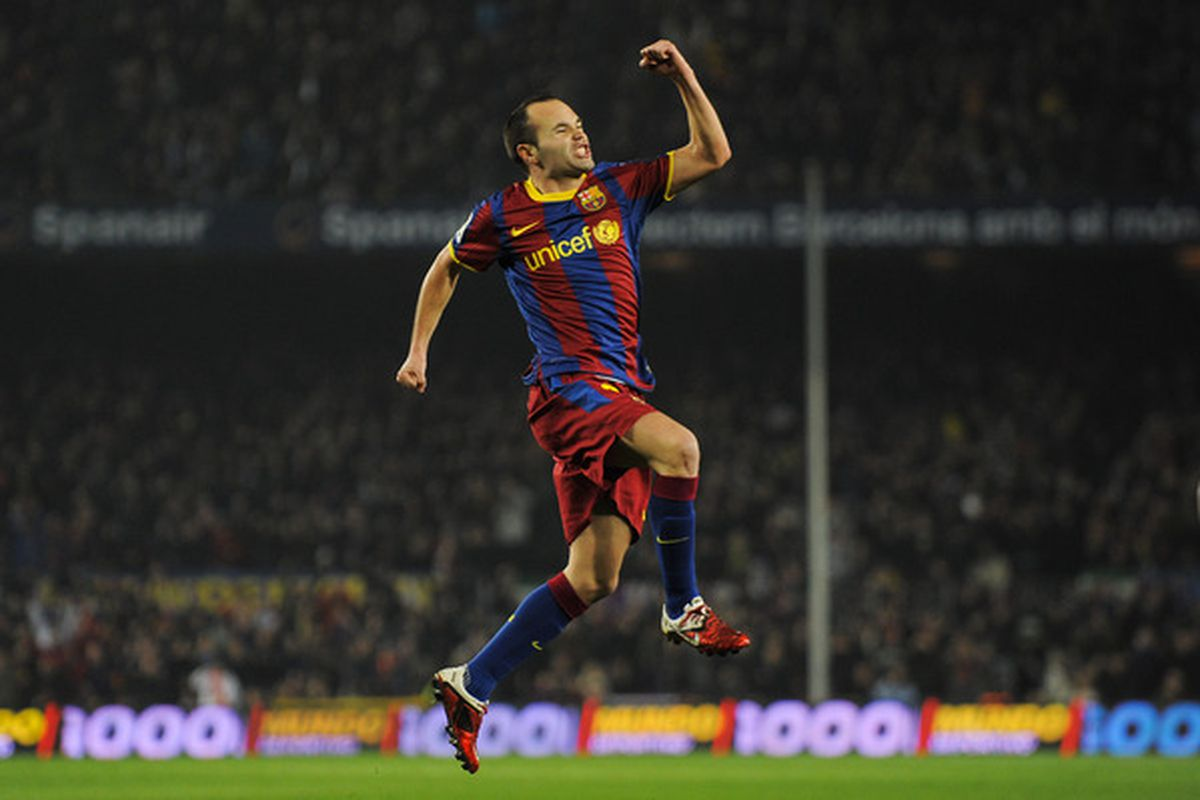 Iniesta is officially back for next week