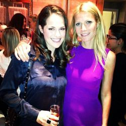 """With the lovely @gwynethpaltrow @tracyanderson studio opening #gwynethpaltrow #tracyanderson"" - <a href=""http://instagram.com/p/XtQCFtAksy/""target=_blank"">@zelanam</a>"