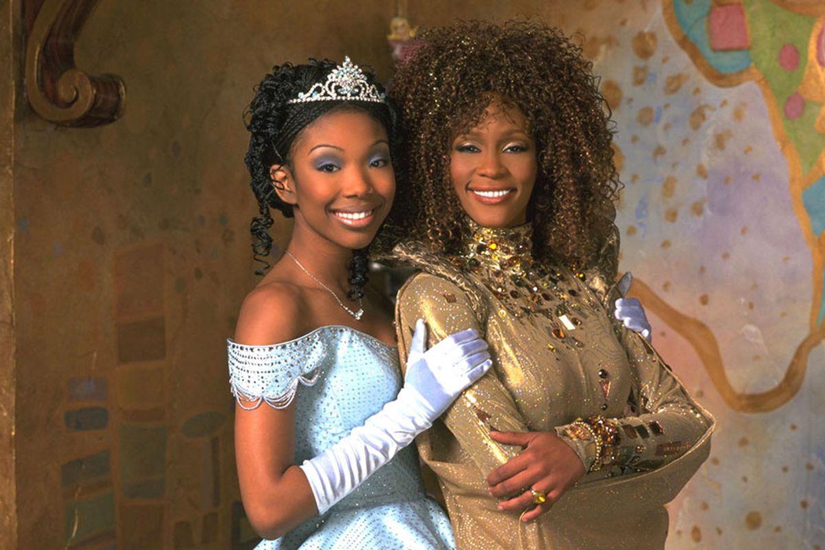 Brandy and Whitney Houston