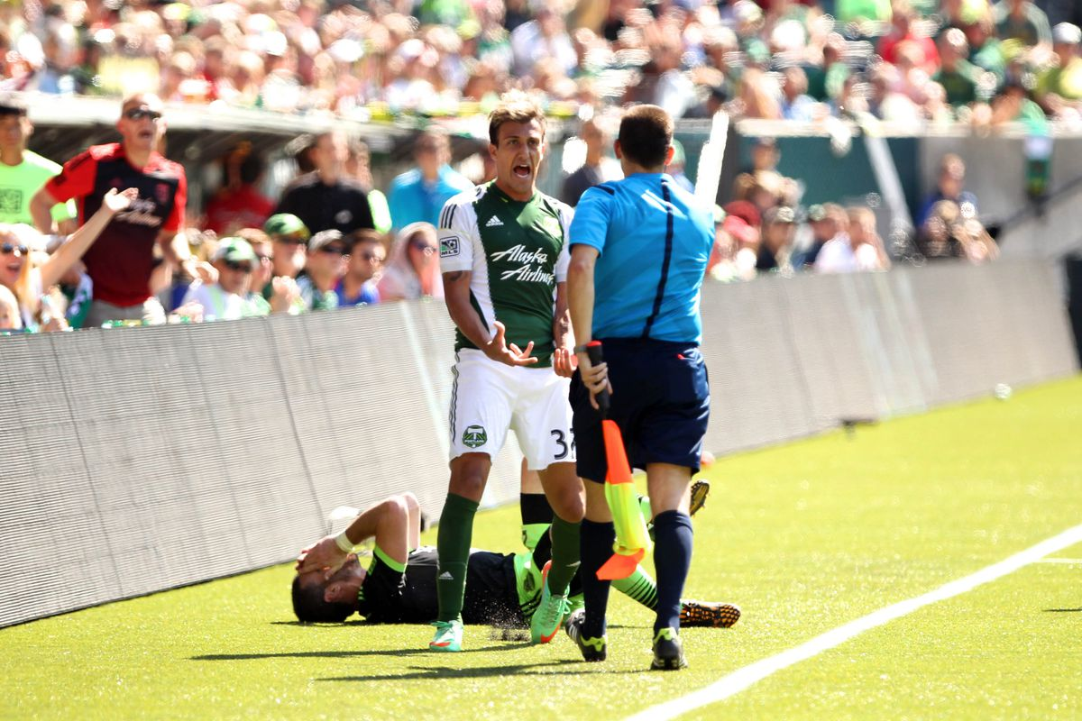 Urruti shouts in elation due to the amazing Groupon deals for Timbers matches