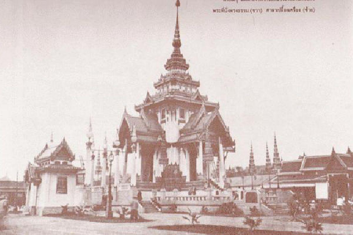 historic photograph of former Thai prince