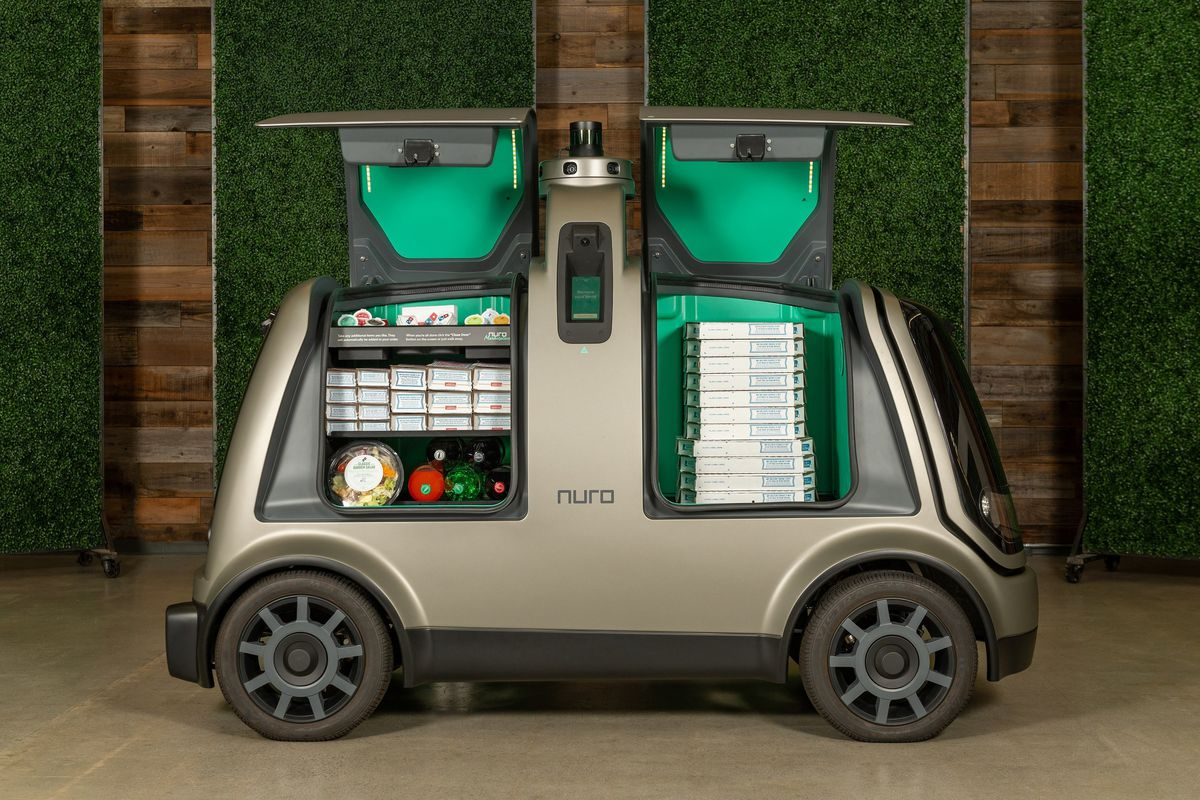 Domino's teams up with Nuro for driverless pizza delivery in