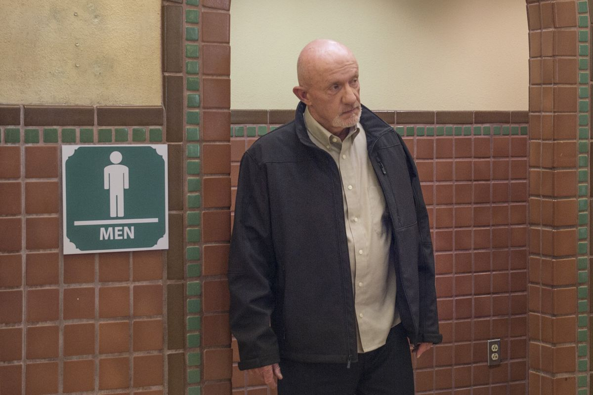 """Better Call Saul's episode """"Five-O"""" shifts the focus, brilliantly, to Mike Ehrmantraut (Jonathan Banks)."""