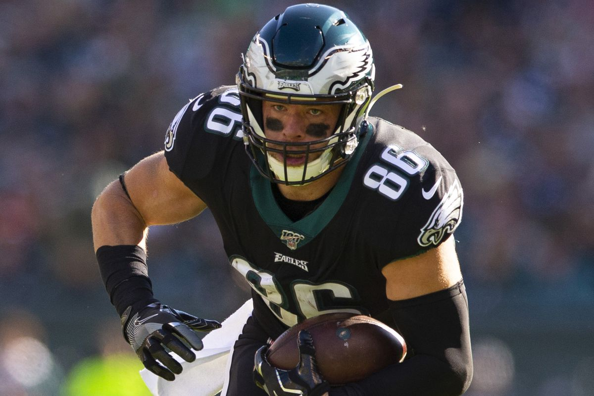 NFL Rumors: Zach Ertz among three Eagles player in contract ...