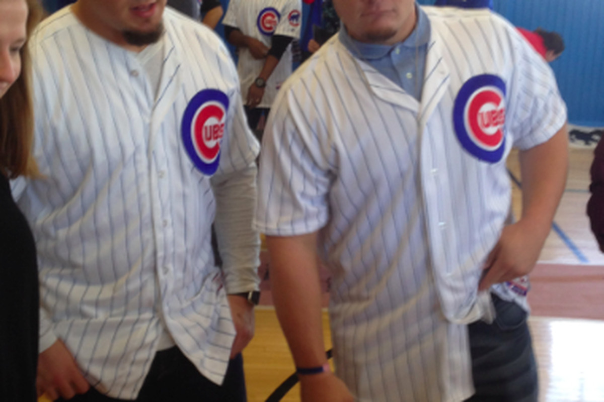 new product b114c ae00d Dan Vogelbach works on making name for himself with Cubs ...