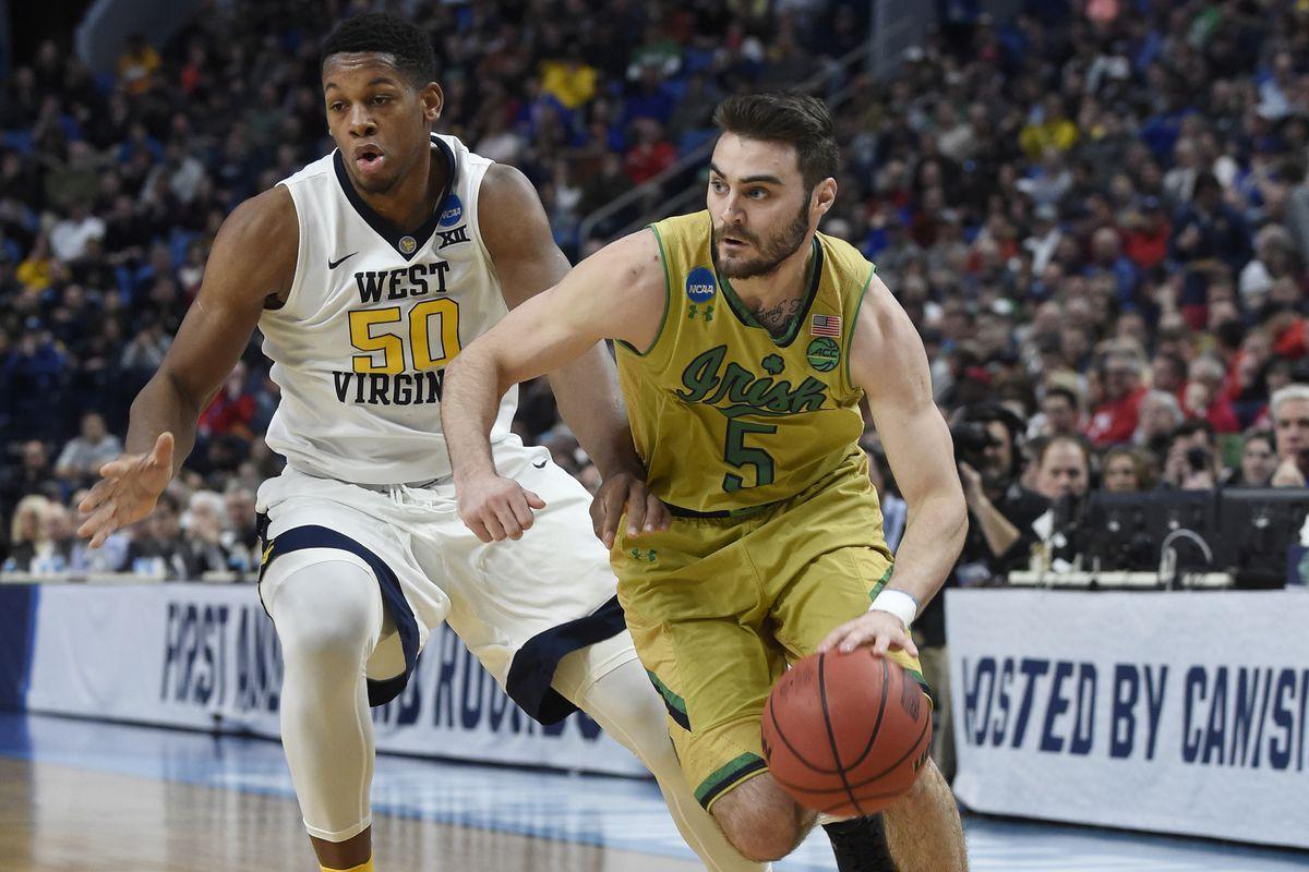NCAA Basketball: NCAA Tournament-Second Round-Notre Dame vs West Virginia