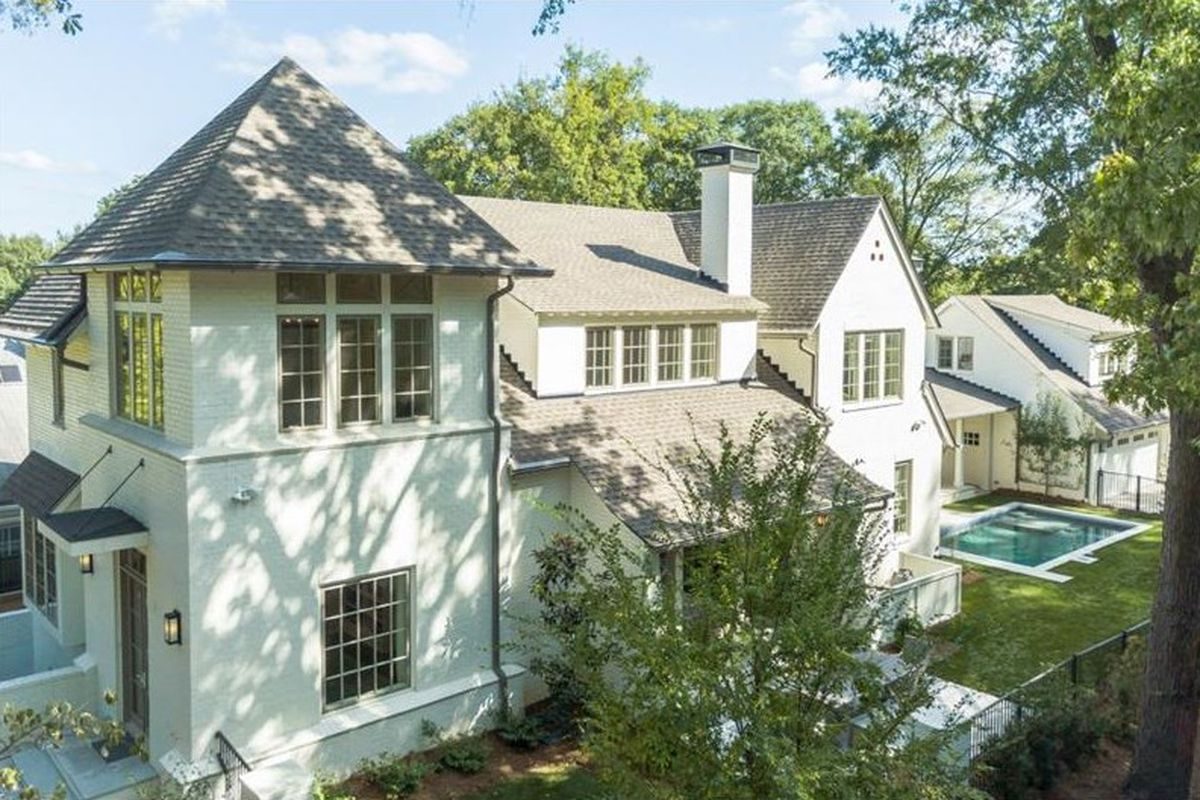 A house for sale near Atlanta's Piedmont Park right now.