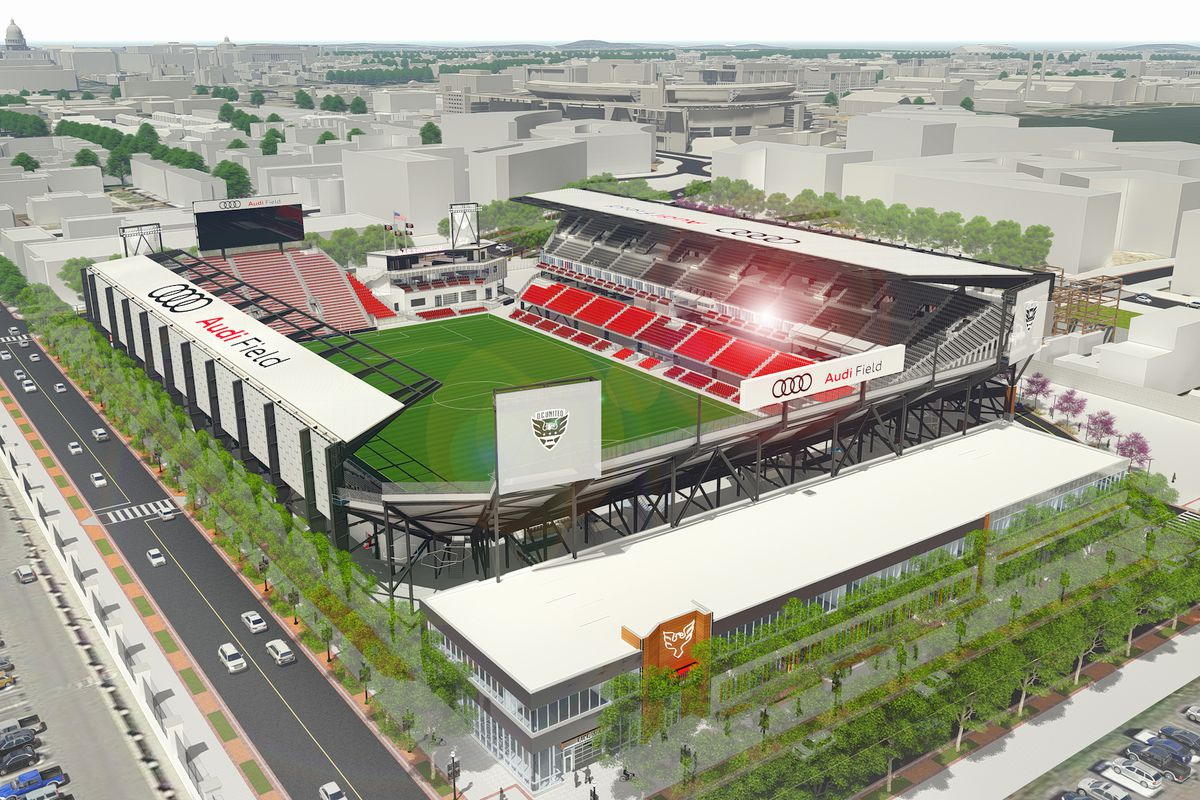 D.C. United Stadium News - Black And Red United