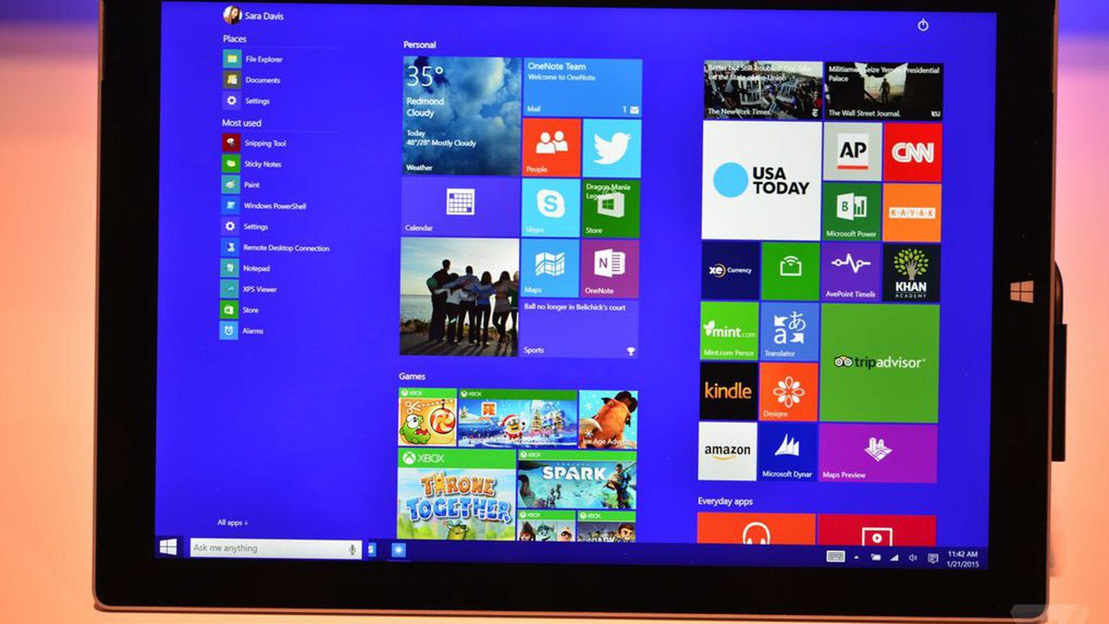 Tumblr Login Screen Not Working: Windows 10's New Music App Looks Like Microsoft's Version