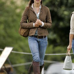 At the Festival of British Eventing (held annually on Princess Anne's Gatcombe Park estate) on August 6th, 2005.