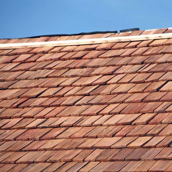 Fire-Retardant Cedar Roof Shingles