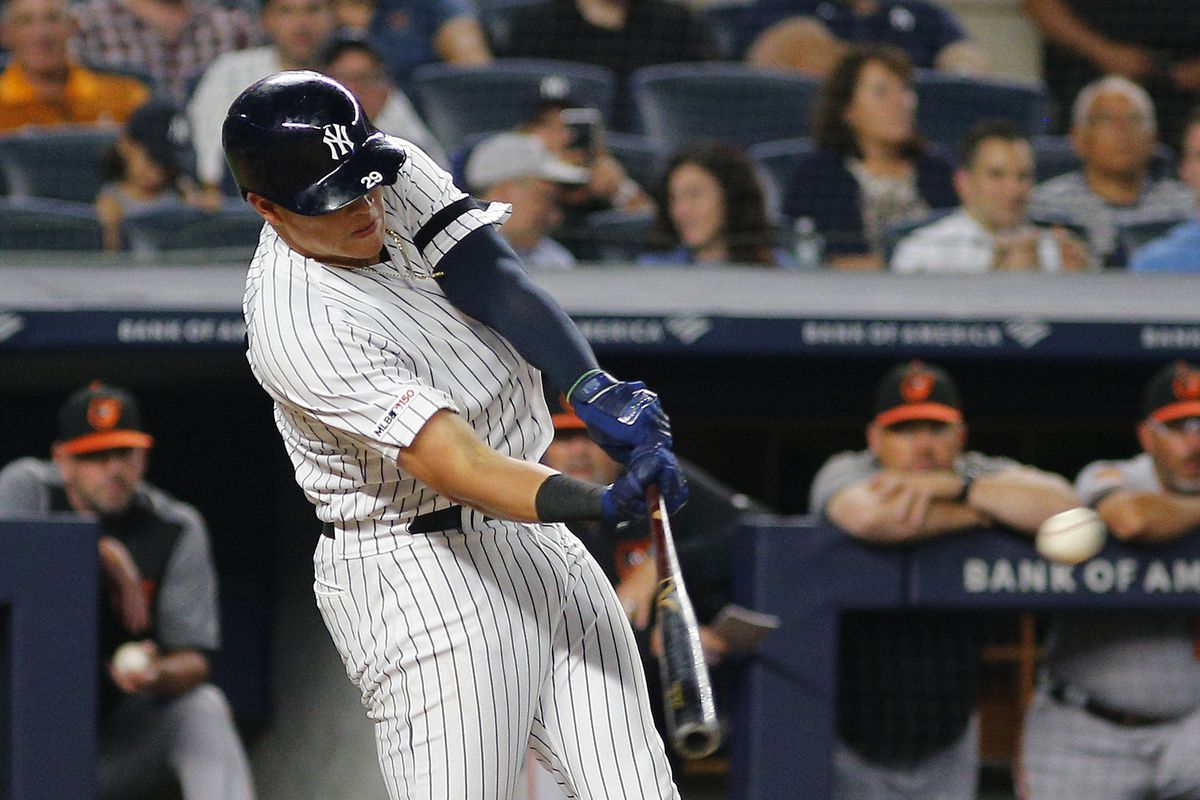Yankees smash 15 hits en route to a 8-3 win over Orioles