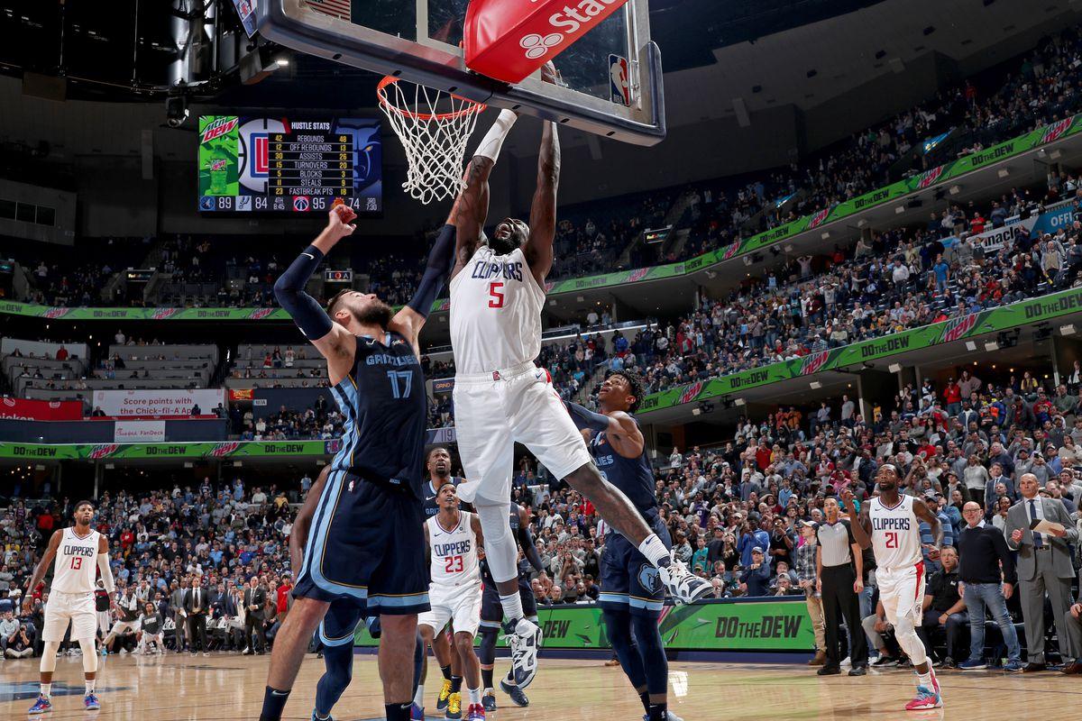 LA Clippers v Memphis Grizzlies