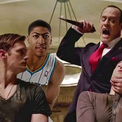 Anthony Davis hangs out in New Orleans with the True Blood crowd