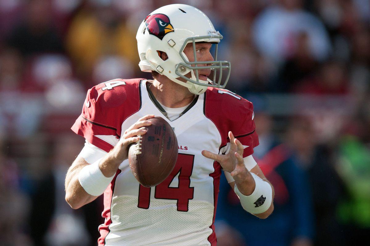 Arizona Cardinals quarterback Ryan Lindley