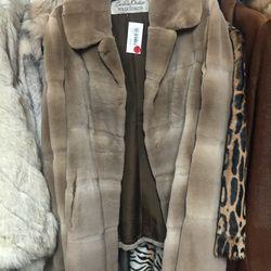 Fur coat, $2,500