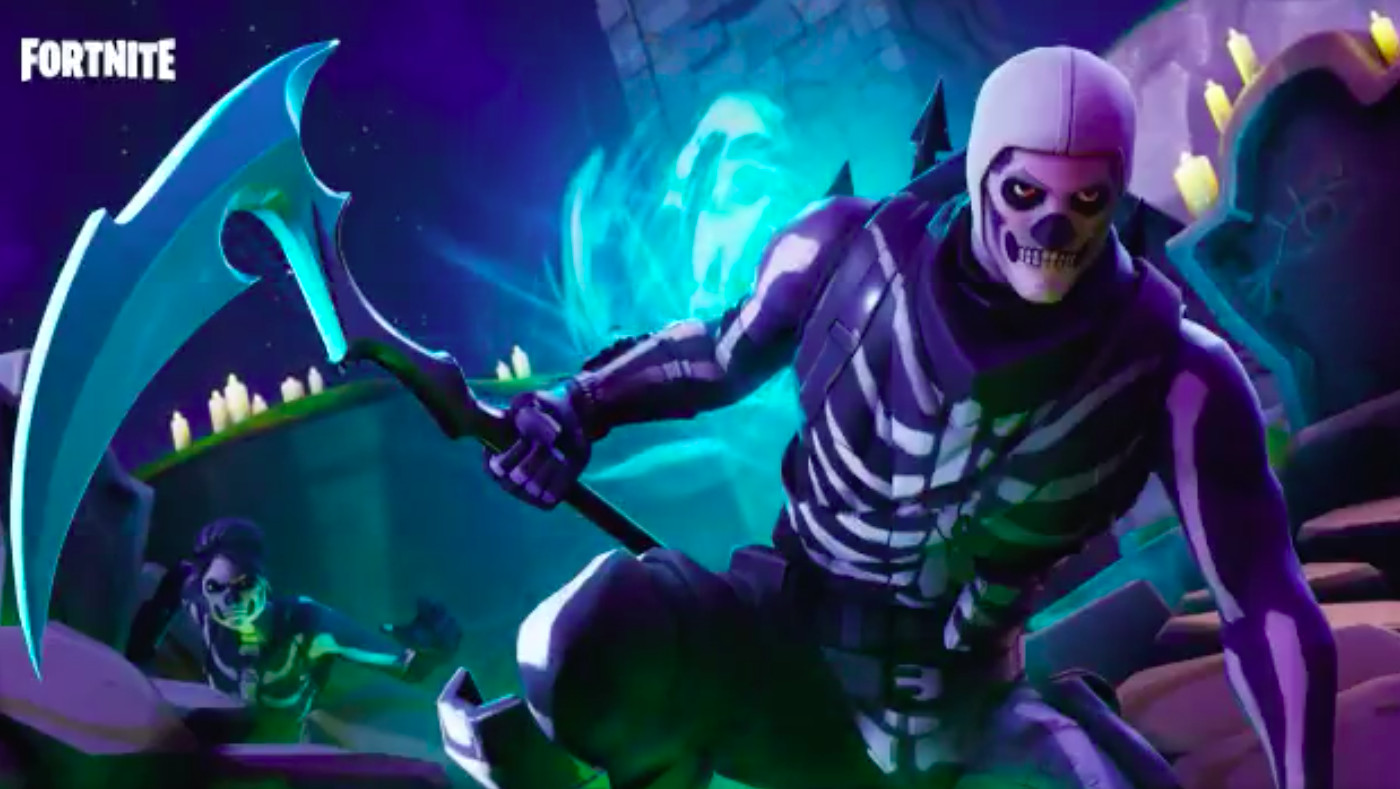Fortnite S Skull Trooper Mania Shows How Epic Makes Big Money Selling Skins The Verge