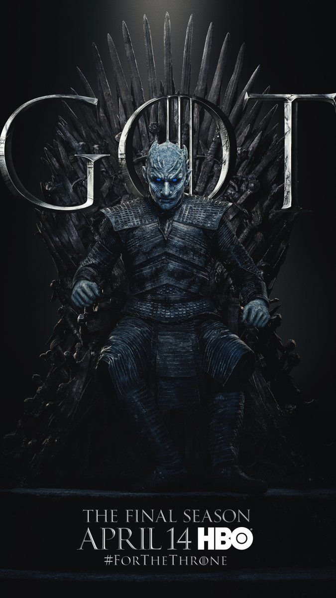 Also ready? The Night King (Vladimir Furdik) looks terrifying as ever on the throne. | HBO