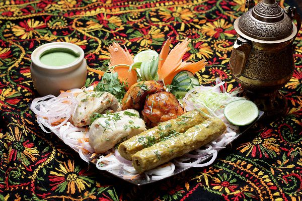 A range of dishes at Kashmir, one of the best north Indian restaurants in London