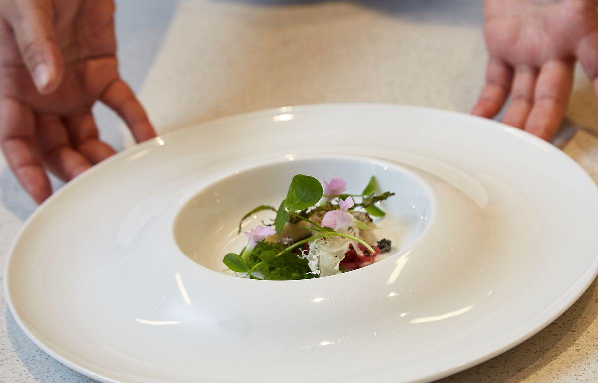 A plate at Yugen.
