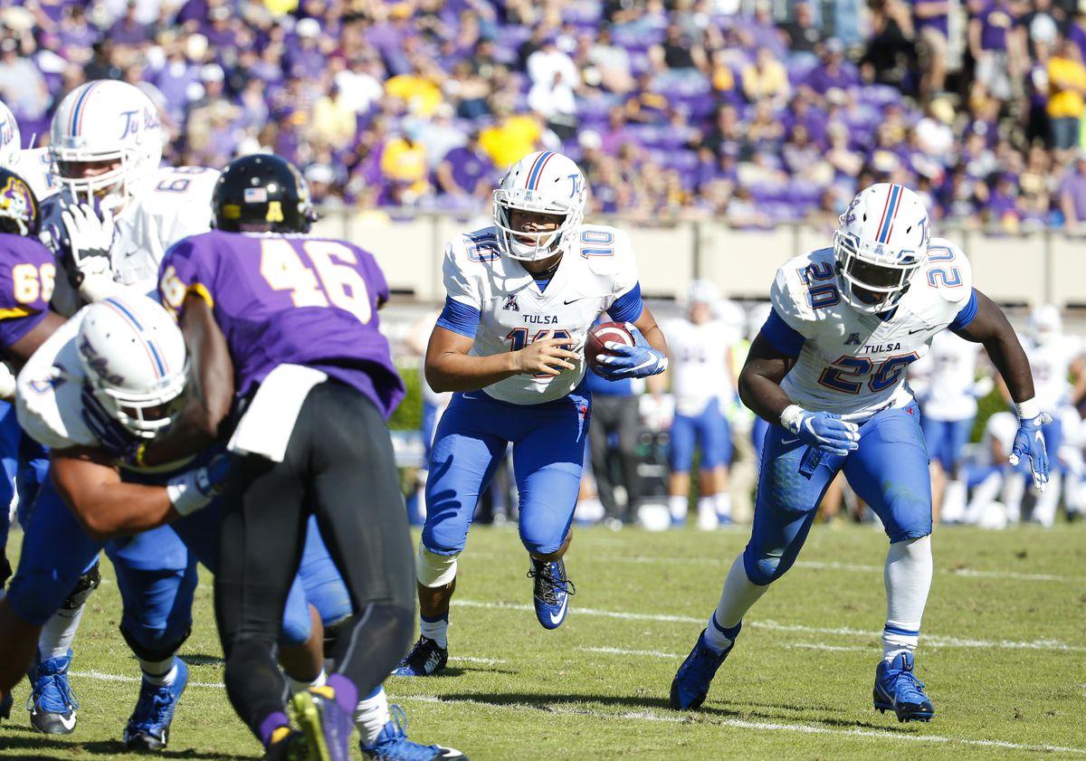 NCAA Football: Tulsa at East Carolina
