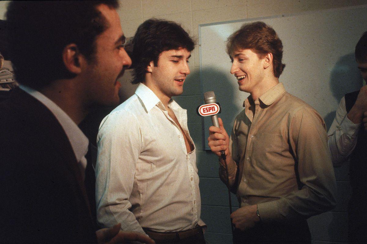 Gretzky Interviews Coffey