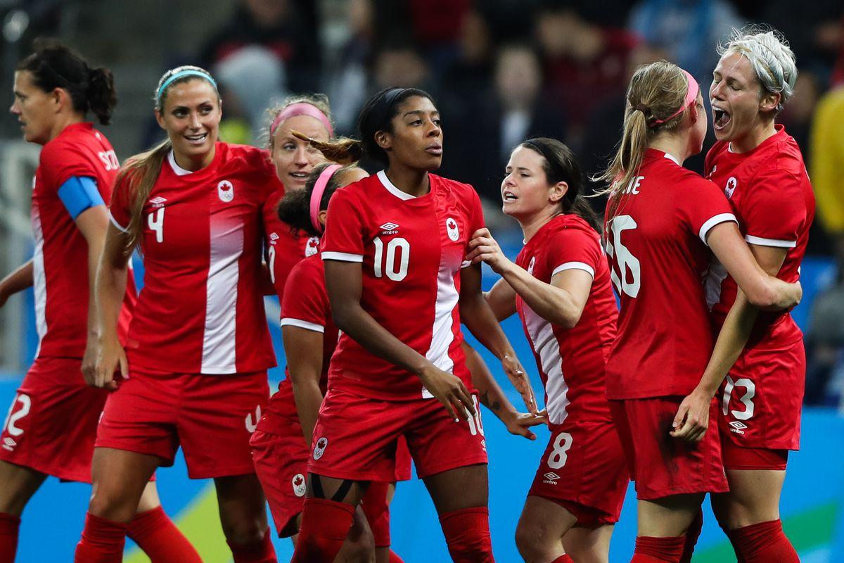 Canada v France Quarter Final: Women's Football - Olympics: Day 7