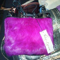 $59 Foley and Corina faux fur bag