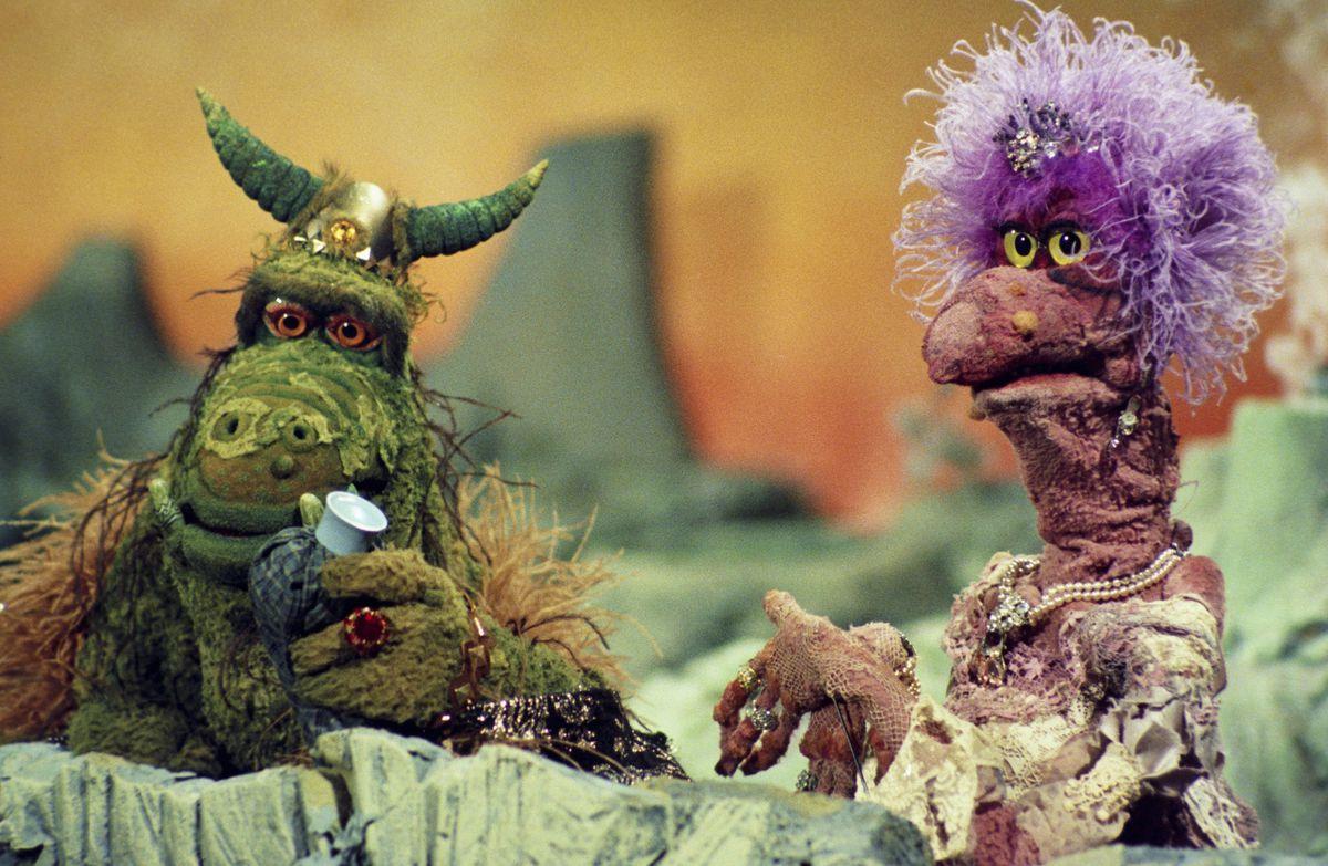 Jim Henson's Muppets during the Ploobis & Scred Get Drunk' skit on December 13, 1975