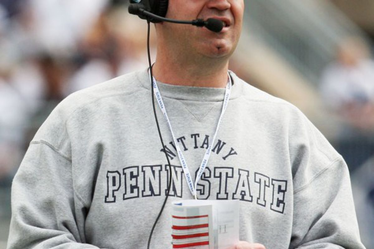 Bill O'Brien and the Nittany Lions have a lot of work to do (Rob Christy-US PRESSWIRE)