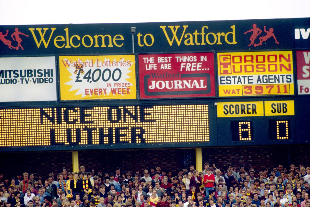 Soccer - Football League Division One - Watford v West Bromwich Albion