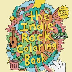 """The Indie Rock Coloring Book, <a href=""""http://shop.npr.org/the-indie-rock-coloring-book"""">$9.95.</a> Image credit: NPR"""