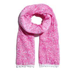 'See Ya Later' pom pom scarf, $20