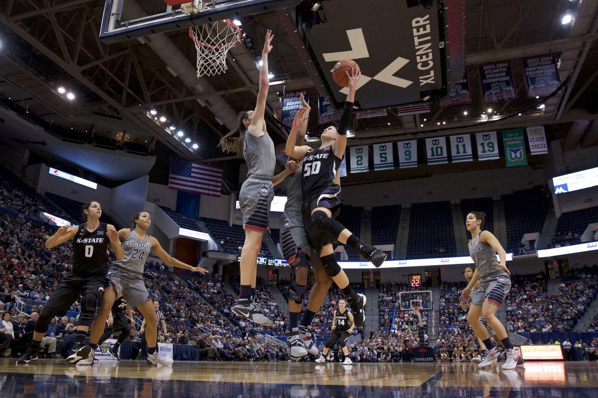 NCAA Womens Basketball: Kansas State at Connecticut