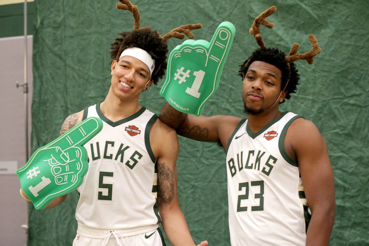 best sneakers 377e2 45d9d The Rise of the Bucks' 2017 Draft Duo - Brew Hoop