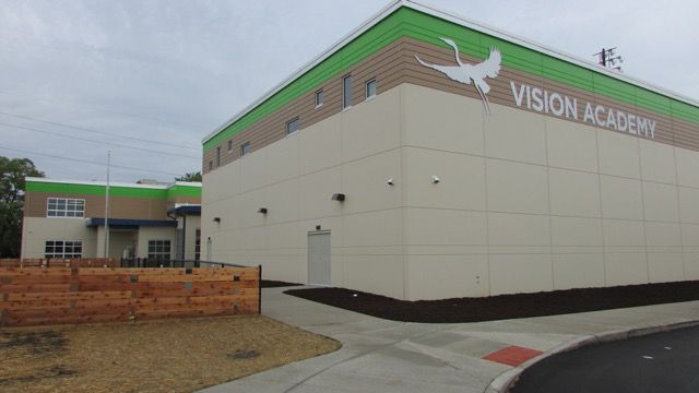 Vision Academy is a mayor-sponsored charter school affiliated with the Challenge Foundation.