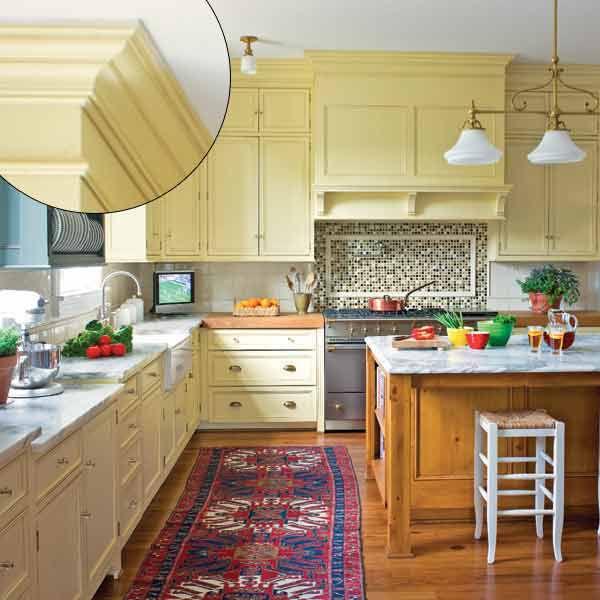 Greek Revival Kitchen Trim