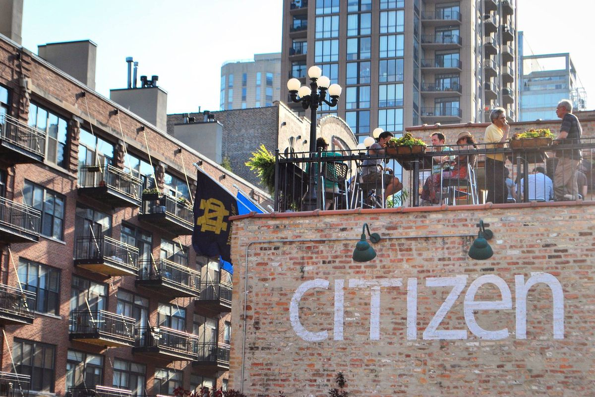 Citizen Bar, The Popular River North Rooftop Spot, Will ...