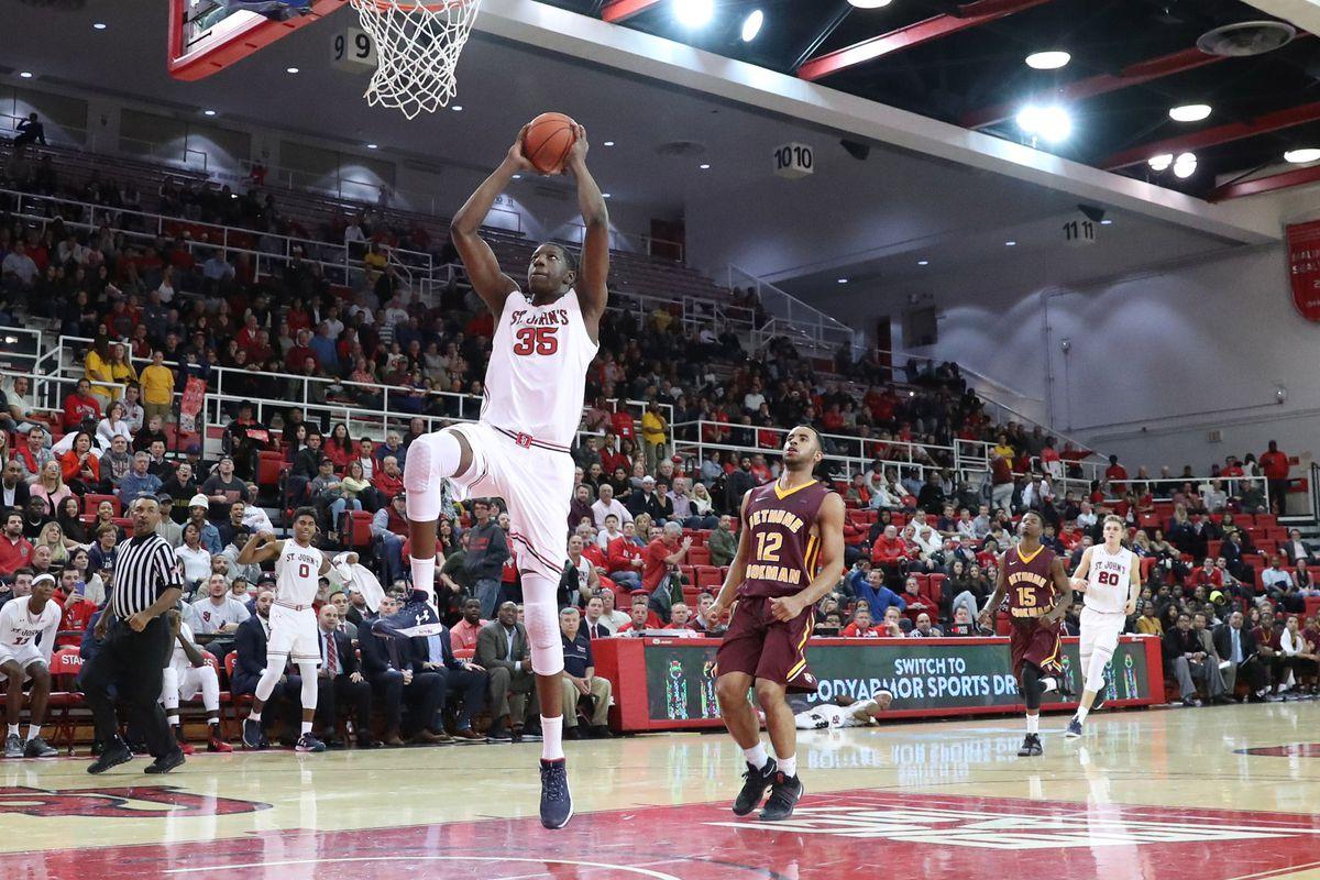 NCAA Basketball: Bethune-Cookman at St. John