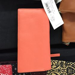 Small leather wallet, $40