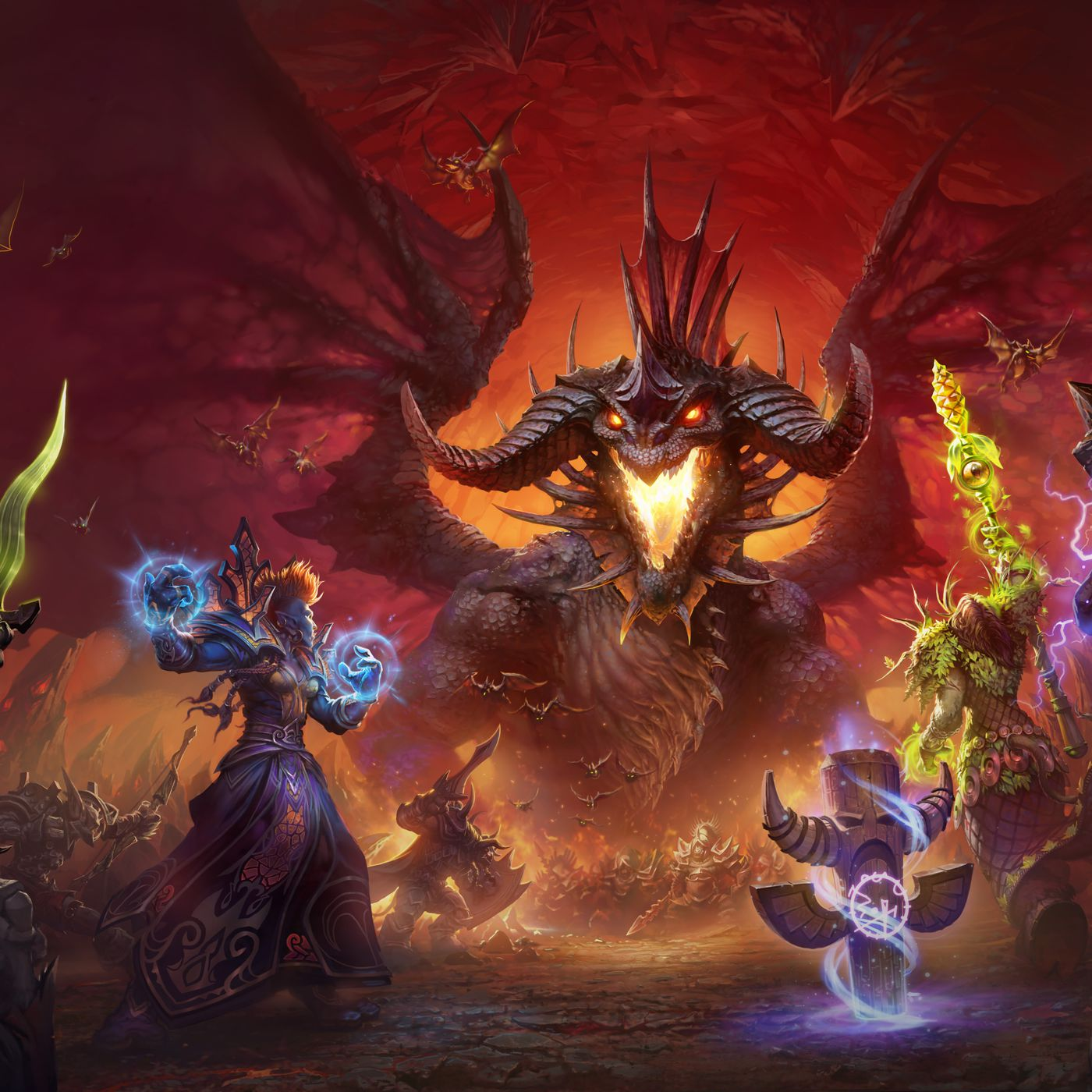 World Of Warcraft Classic Review The Players Grew Up Polygon