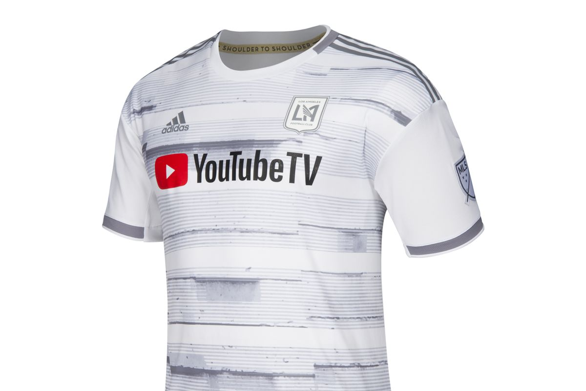"610b3bcc8 LAFC unveil ""street by street"" jersey for 2019 - Angels on Parade"