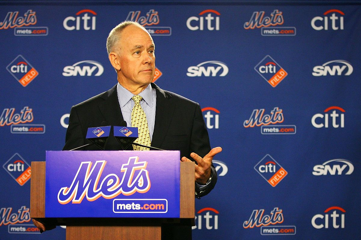 New York Mets Introduce Sandy Alderson as General Manager