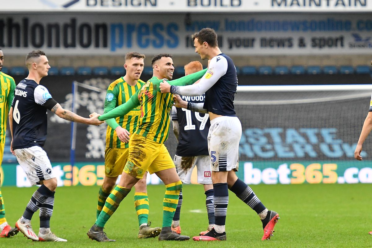 Millwall v West Bromwich Albion - Sky Bet Championship