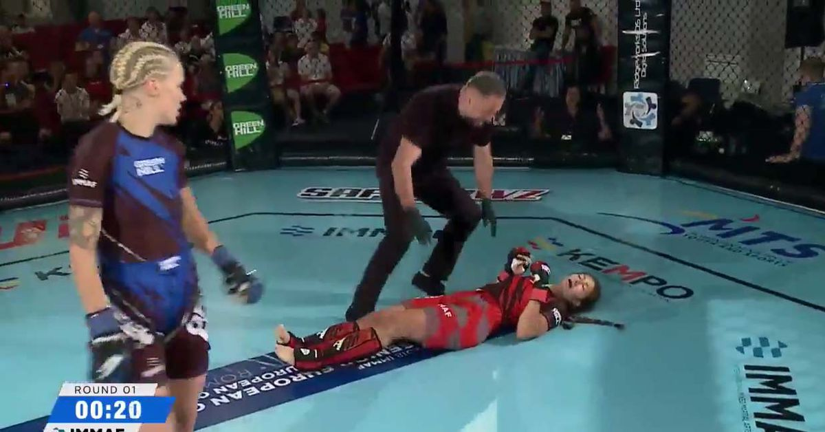 Watch The Most Violent Head Kick Knockout In WMMA Since Holm Vs. Rousey