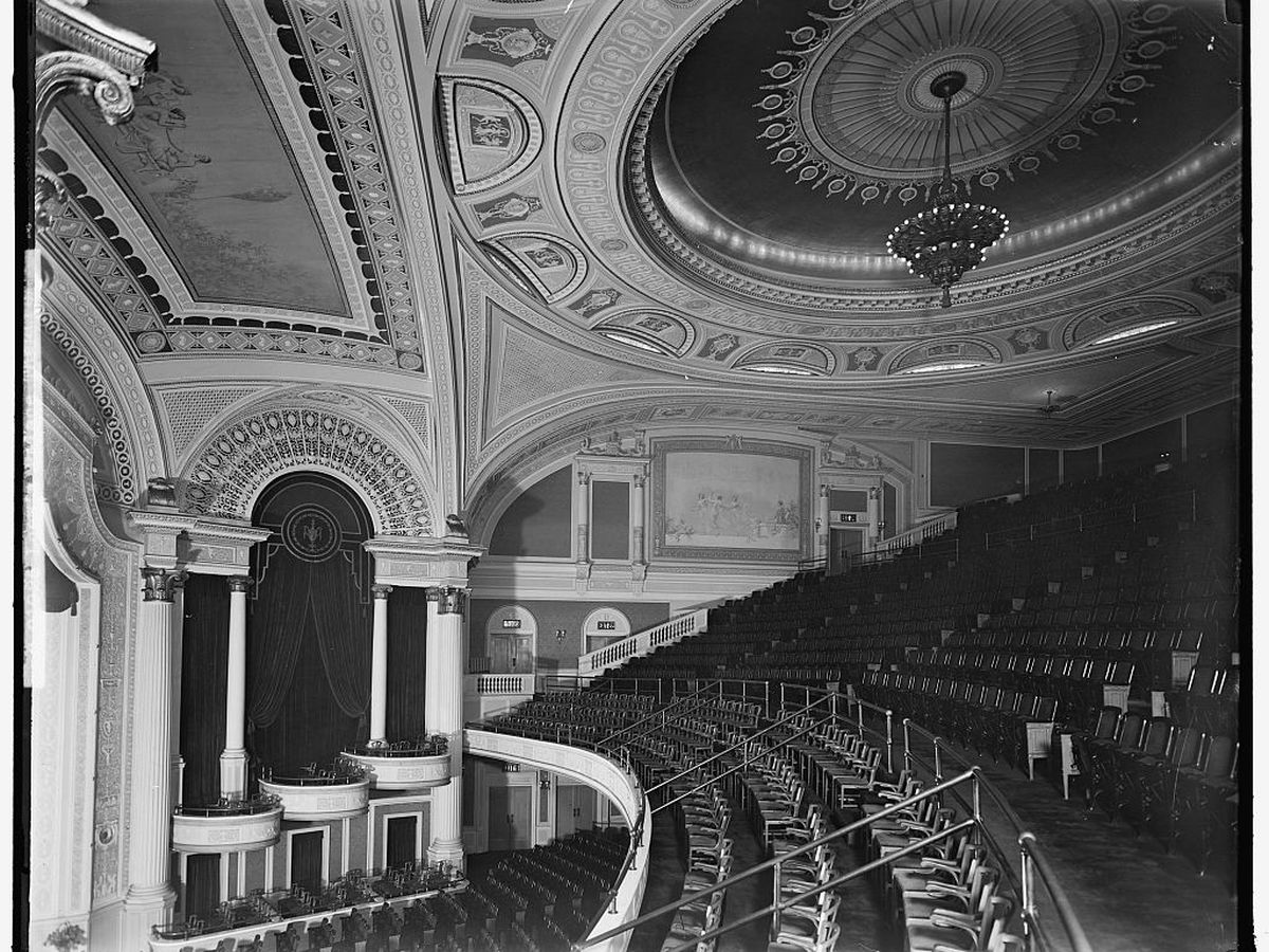 D C  movie theaters: a history - Curbed DC