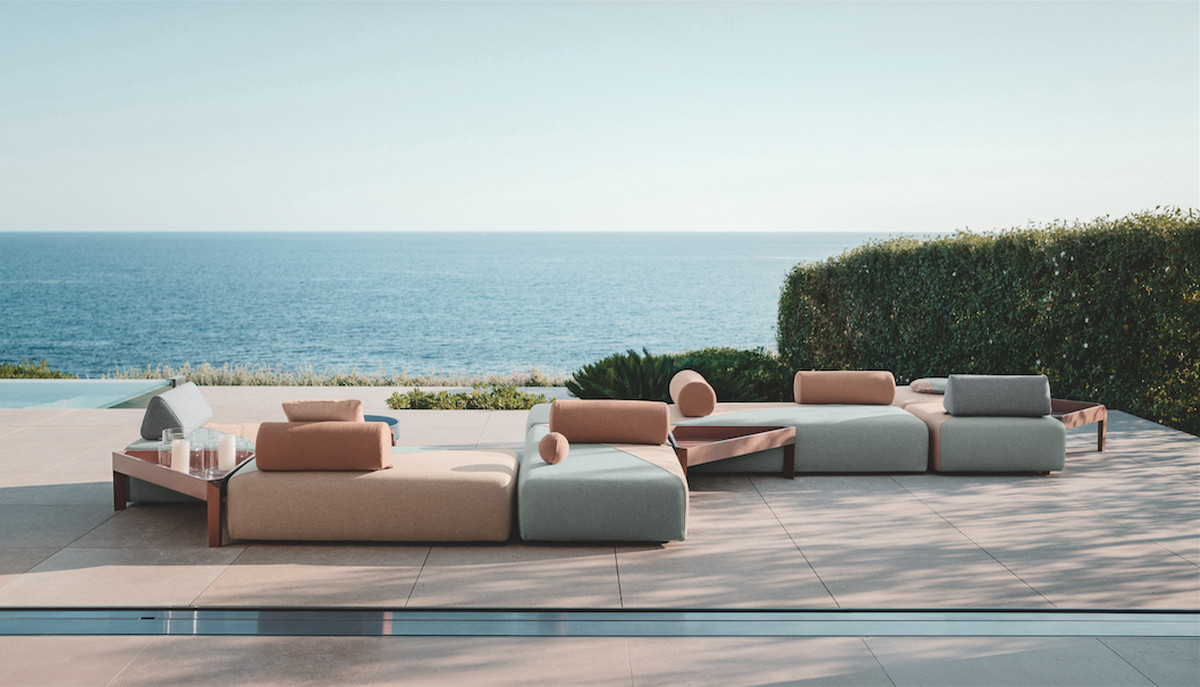 stylist and luxury sofas by design. The Brixx Collection from Dedon  Courtesy Best outdoor furniture 15 picks for any budget Curbed